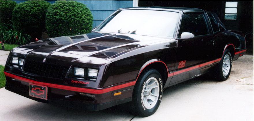1987 monte carlo ss aerocoupe